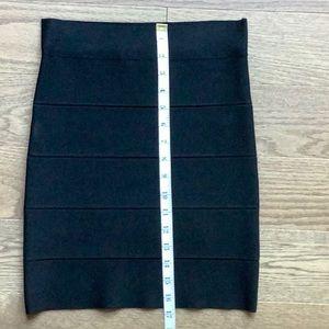 BCBGMaxAzria Skirts - BCBG black bandage skirt